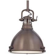 Longshore Tides Argana 1-Light Pendant; Historic Bronze
