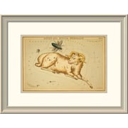 East Urban Home 'Aries and Musca Borealis, 1825' Framed Print; 24'' H x 32'' W x 1.5'' D