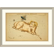 East Urban Home 'Aries and Musca Borealis, 1825' Framed Print; 32'' H x 44'' W x 1.5'' D