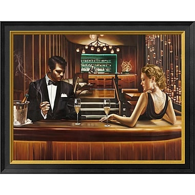 East Urban Home 'A Grand Night Out' Framed Graphic Art Print; 14'' H x 18'' W