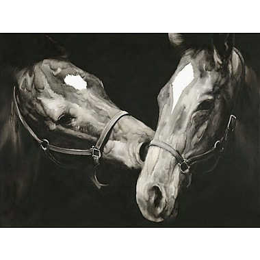 Union Rustic 'Happy Horses' Photographic Print on Canvas