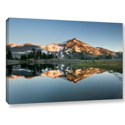 World Menagerie 'South Sister Reflection II' Photographic Print on Wrapped Canvas