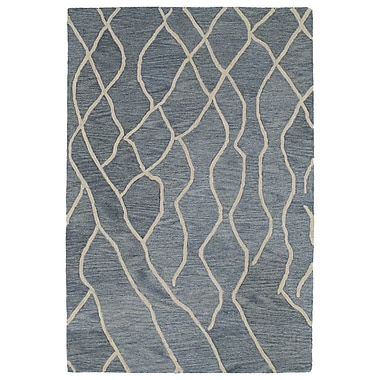 Williston Forge Adrianne Grey Geometric Rug; 4' x 6'