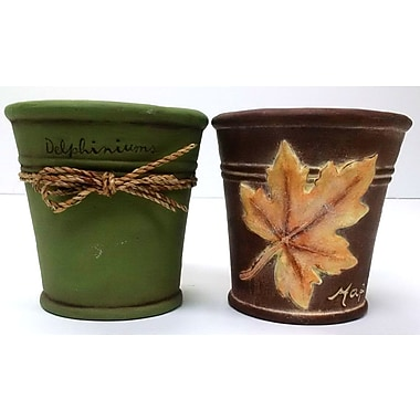 Houston International Ceramic Planter