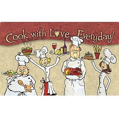 Red Barrel Studio McCarthy Cook w/ Love Everday Rug Pad