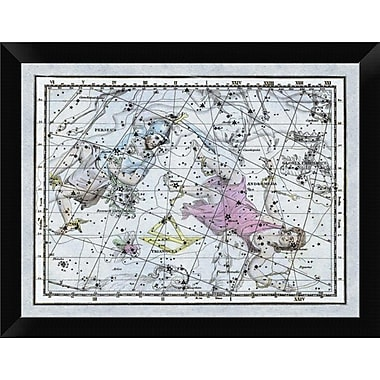 East Urban Home 'Maps of the Heavens: Andromeda and Perseus' Framed Graphic Art Print
