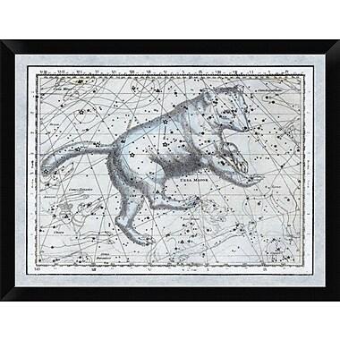 East Urban Home 'Maps of the Heavens: Ursa Major - The Great Bear' Framed Graphic Art Print