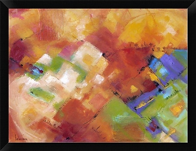 East Urban Home 'Terre Baciate Dal Sole' Framed Oil Painting Print; 9'' H x 12'' W