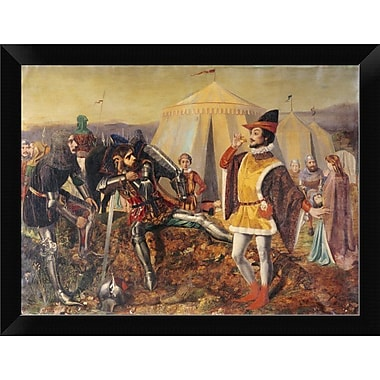 East Urban Home 'The Dauphin of France' Framed Oil Painting Print; 8.88'' H x 12'' W