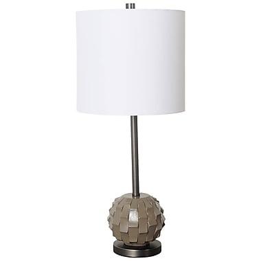 Ivy Bronx Arlington 26'' Table Lamp; Light Brown