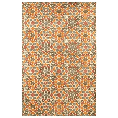 Bloomsbury Market Devereaux Hand Tufted Orange Area Rug; 9'6'' x 13'