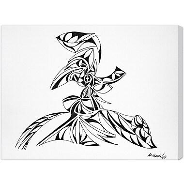 Ivy Bronx 'Tourbillon' Painting Print on Wrapped Canvas; 12'' H x 16'' W x 1.5'' D