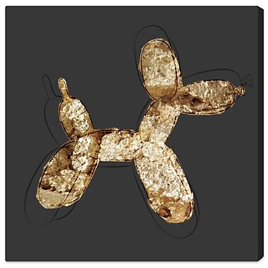 Ivy Bronx 'Balloon Dog Rock' Graphic Art on Wrapped Canvas; 36'' H x 36'' W x 1.5'' D