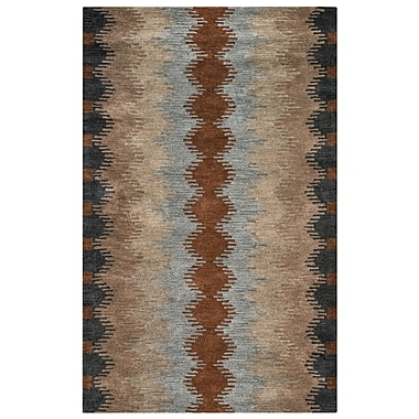 Loon Peak Benjamin Hand-Tufted Rectangle Multi Area Rug; 8' x 10'