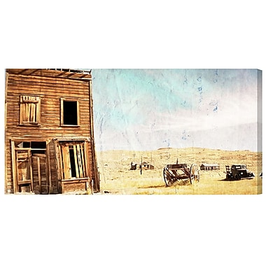 Loon Peak 'Ranch' Photographic Print on Wrapped Canvas; 24'' H x 48'' W x 2'' D