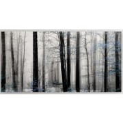 Loon Peak 'Waiting for Spring' Photographic Print on Wrapped Canvas; 20'' H x 40'' W