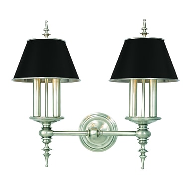Everly Quinn Moura 4-Light Wall Sconce; Antique Nickel