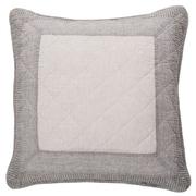 Gracie Oaks Maddie 100pct Cotton Throw Pillow; 18'' H x 18'' W