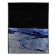 Orren Ellis 'Olsen' Framed Watercolor Painting Print on Canvas