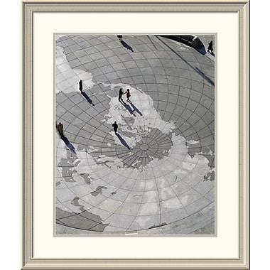 East Urban Home 'U.S. Navy Memorial, Washington, D. C.' Framed Print; 36'' H x 30'' W x 1.5'' D