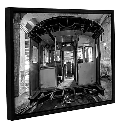 17 Stories 'Abandoned Subway 3' Framed Photographic Print on Canvas; 8'' H x 10'' W x 2'' D