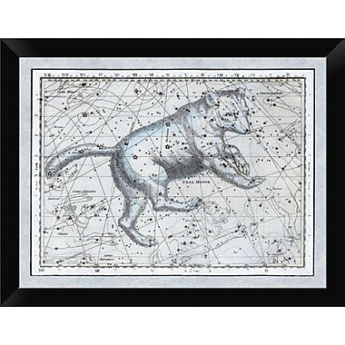 East Urban Home 'Maps of the Heavens: Ursa Major - The Great Bear' Framed Graphic Art Print