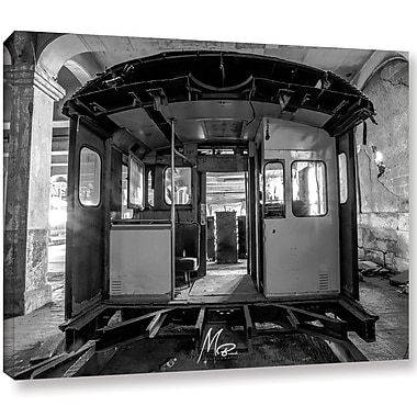 17 Stories 'Abandoned Subway 3' Photographic Print on Canvas; 18'' H x 24'' W x 2'' D