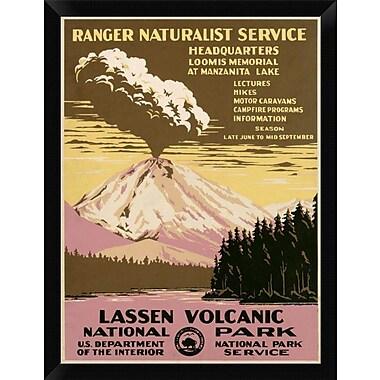 East Urban Home 'Lassen Volcanic National Park ca. 1938' Framed Graphic Art Print; 16'' H x 12'' W