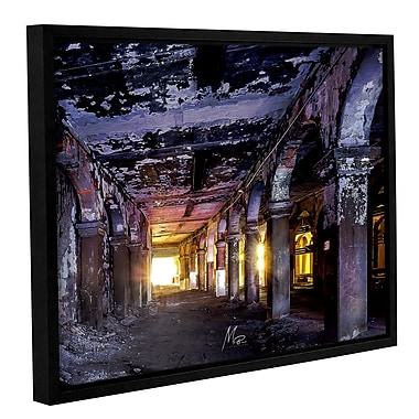 17 Stories 'Abandoned Subway 1' Framed Photographic Print on Canvas; 24'' H x 32'' W x 2'' D