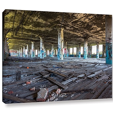 17 Stories 'Abandoned Warehouse' Photographic Print on Canvas; 18'' H x 24'' W x 2'' D