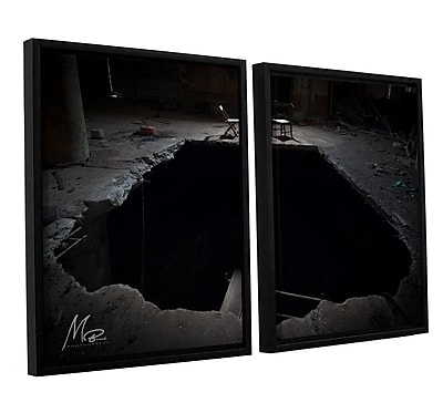 Williston Forge 'Black Hole' Photographic Print Multi-Piece Image on Canvas in Black/Gray