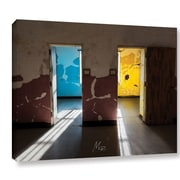 Williston Forge 'Pick a Door' Photographic Print on Wrapped Canvas; 14'' H x 18'' W x 2'' D