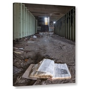 Williston Forge 'Abandoned School 4' Photographic Print on Canvas; 48'' H x 36'' W x 2'' D
