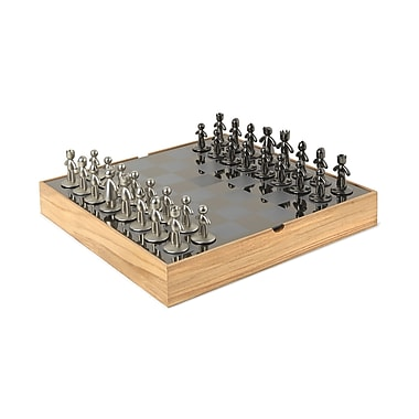 Umbra Buddy Chess Set, Natural (1005304-390)