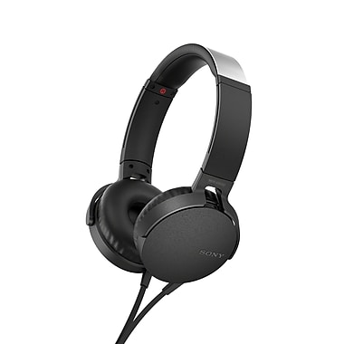 Sony MDR-XB550AP/B On-Ear EXTRA BASS™ Headphones, Black