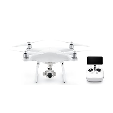 DJI Phantom 4 Advanced+ Professional Quadcopter Drone, White (CP.PT.000698)