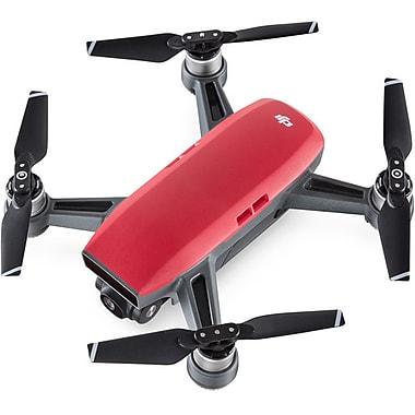 DJI – Mini drone quadricoptère Spark, rouge lave