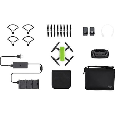 DJI Spark Quadcopter Selfie Drone Fly More Combo, Meadow Green (CP.PT.000903)