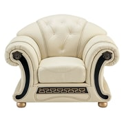 Astoria Grand Berrylawn Leather Armchair