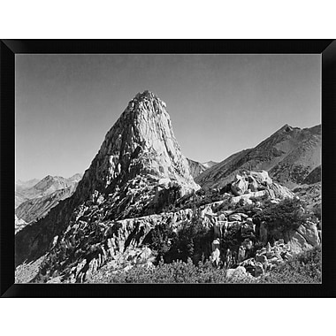 'Fin Dome Kings River Canyon Proposed as A National Park California 1936' Framed Photographic Print