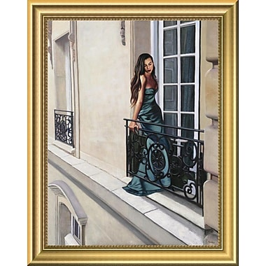 East Urban Home 'Window' Framed Oil Painting Print; 14'' H x 11.09'' W