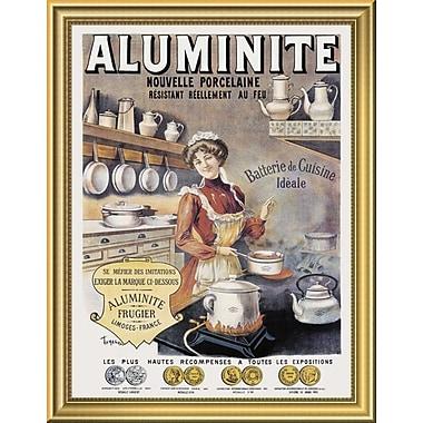 East Urban Home 'Cooks: Aluminite' Framed Graphic Art Print; 18'' H x 14'' W