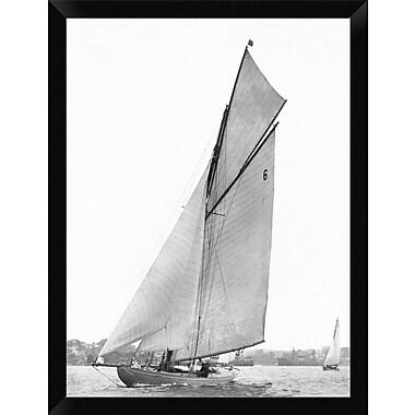 East Urban Home 'Sailing' Framed Photographic Print; 16'' H x 12'' W