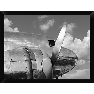 East Urban Home 'Propeller' Framed Photographic Print; 12'' H x 16'' W