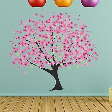 Style and Apply Cherry Tree Wall Decal Sticker; 46'' H x 42'' W