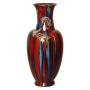Bloomsbury Market Double Dragon Floor Vase