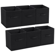 Rebrilliant Foldable Storage Box Drawer Cube or Bin (Set of 6)