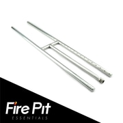 Fire Pit Essentials Stainless Steel Gas Fire Pit; 0.75'' H x 36'' W x 6'' D