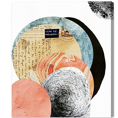Ivy Bronx 'Letters to the Moon' Painting Print on Canvas; 42'' H x 36'' W