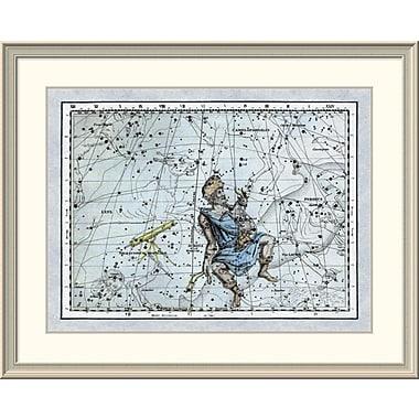 East Urban Home 'Maps of the Heavens: Auriga the Charioteer' Framed Print; 20'' H x 24'' W x 1.5'' D
